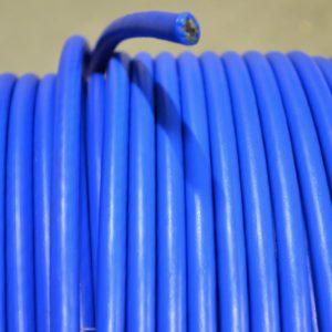 staalkabel blauw gecoat, mestkabel