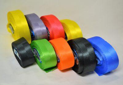 Sjorbanden 25 mm met gesp
