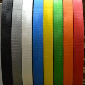 Band polyester type 17 voor bijvoorbeeld kleine sjorbandjes
