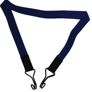 band elastiek met aan weerzijde een haak voor het vastzetten van producten in een lorrie of de lorrie in een vrachtwagen